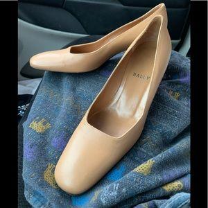 Bally Leather Short Heels Wedges